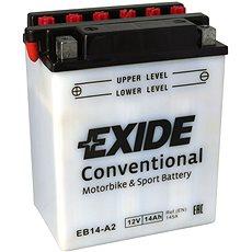 EXIDE BIKE Conventional 14Ah, 12V, YB14-A2 - Motobaterie