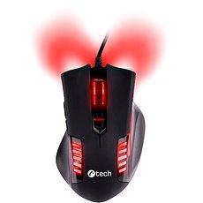 C-TECH Empusa (červené podsvícení) - Herní myš