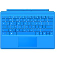 Surface Pro 4 Type Cover Bright Blue - Klávesnice