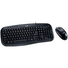Genius KM-210 CZ+SK - Set klávesnice a myši