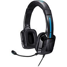 TRITTON KAMA černo-modré - Herní sluchátka