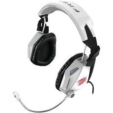 Mad Catz F.R.E.Q. 5 bílý - Herní sluchátka