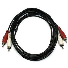 OEM 2x cinch, propojovací, 2.5m - Audio kabel