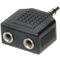 OEM audio 3.5mm JACK --> 2x 3.5mm JACK - Redukce