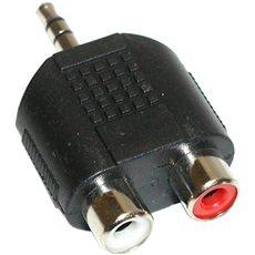 OEM audio 3.5mm JACK --> 2x cinch - Redukce