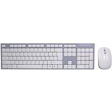 EVOLVEO WK-180 bílo-šedá - Set klávesnice a myši
