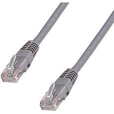 Datacom CAT5E UTP šedý 10m - Síťový kabel