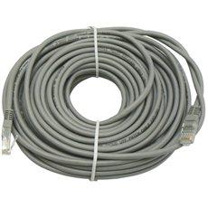 Datacom CAT5E UTP šedý 20m - Síťový kabel
