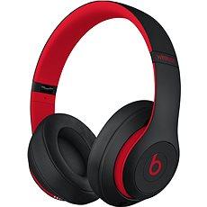 Beats Studio3 Wireless - vyvzdorovaná černo-červená - Sluchátka