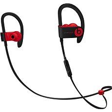 Beats PowerBeats3 Wireless - vyvzdorovaná černo-červená - Sluchátka s mikrofonem