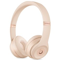 Beats Solo3 Wireless - matně zlatá - Sluchátka