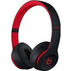 Beats Solo3 Wireless - vyvzdorovaná černo-červená - Sluchátka