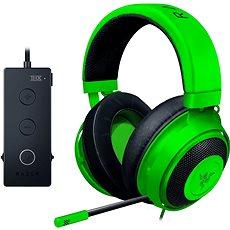 Razer Kraken Tournament Edition Green - Herní sluchátka