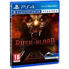 Until Dawn: Rush of Blood - PS4 VR - Hra pro konzoli