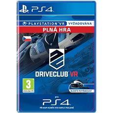 DRIVECLUB VR  - PS4 CZ Digital - Hra pro konzoli