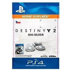 500 Destiny 2 Silver - PS4 CZ Digital - Herní doplněk