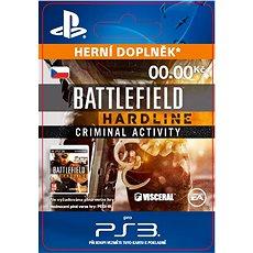 Battlefield Hardline Criminal Activity - PS3 CZ Digital - Herní doplněk