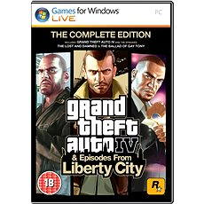 Grand Theft Auto IV Complete Pack - Hra pro PC