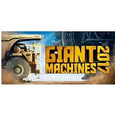 Giant Machines 2017 (PC) CZ DIGITAL - Hra pro PC