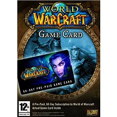 World of Warcraft 60-day time card (PC) DIGITAL (CZ) - Hra pro PC