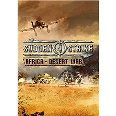 Sudden Strike 4 - Africa: Desert War (PC) DIGITAL (CZ) - Hra pro PC