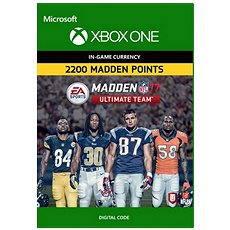 Madden NFL 17: MUT 2200 Madden Points Pack - Xbox One DIGITAL - Hra pro konzoli