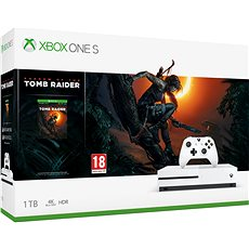 Xbox One S 1TB + Shadow of The Tomb Raider - Herní konzole