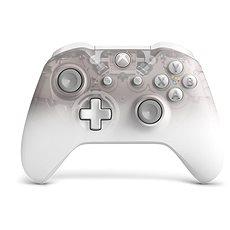 Xbox One Wireless Controller Phantom White - Gamepad