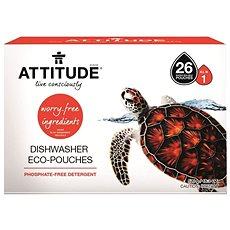 ATTITUDE All in 1 bez fosfátů 26 ks - Eko tablety do myčky