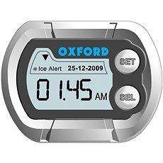OXFORD hodiny a teploměr na motocykl voděodolné, (stříbrná) - Příslušenství