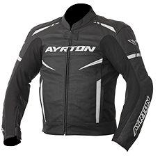 AYRTON Raptor, černá/bílá - Bunda na motorku