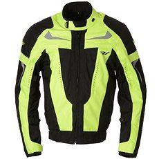 AYRTON Sting, černá/žlutá fluorescentní - Bunda na motorku