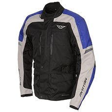 AYRTON Tonny, černá/šedá/modrá - Bunda na motorku