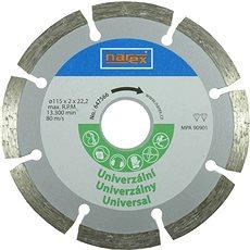 NAREX segmentový 115mm universal  - Diamantový kotouč