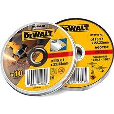 DeWALT 115x1.2mm v boxu (10ks bal.) - Řezný kotouč