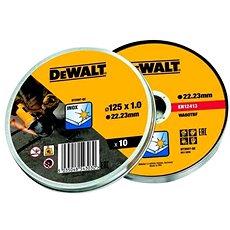 DeWalt 125x1.2mm v boxu (10ks bal.) - Řezný kotouč