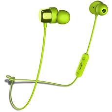 Niceboy HIVE E2 zelená - Sluchátka s mikrofonem