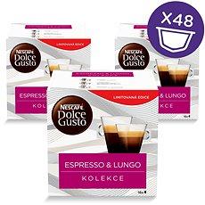Nescafé Dolce Gusto Black Mix Box 3 x 16ks - Kávové kapsle