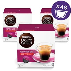 Nescafé Dolce Gusto Espresso Decaffeinato Red 16ks x 3 - Kávové kapsle