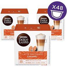 Nescafé Dolce Gusto Latte Macchiato Caramel 16ks x 3 - Kávové kapsle
