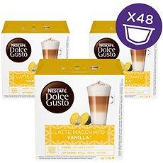 Nescafé Dolce Gusto Latté Macchiato Vanilla 16ks x 3 - Kávové kapsle