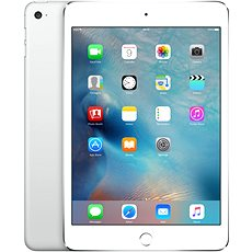 iPad mini 4 s Retina displejem 128GB WiFi Silver - Tablet