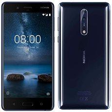 Nokia 8 Dual SIM Polished Blue - Mobilní telefon