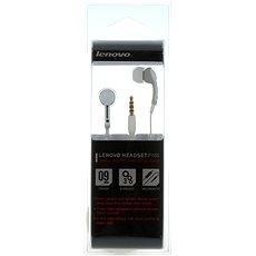 Lenovo in ear headset P165 bílá - Sluchátka s mikrofonem