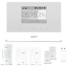 iGET SECURITY M3 - Domovní alarm