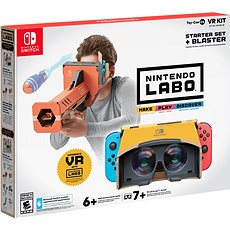 Nintendo Labo - VR Kit Starter Set + Blaster pro Nintendo Switch - Hra pro konzoli