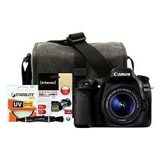 Canon EOS 80D + EF-S 18-55mm IS STM + Canon Starter Kit - Digitální fotoaparát