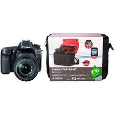 Canon EOS 80D + EF-S 18-135mm IS USM + Canon Starter Kit - Digitální fotoaparát
