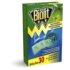 BIOLIT polštářky do elektrického odpařovače 30 ks - Odpuzovač hmyzu