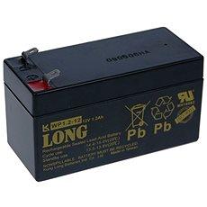 Long 12V 1.2Ah olověný akumulátor F1 (WP1.2-12) - Nabíjecí baterie